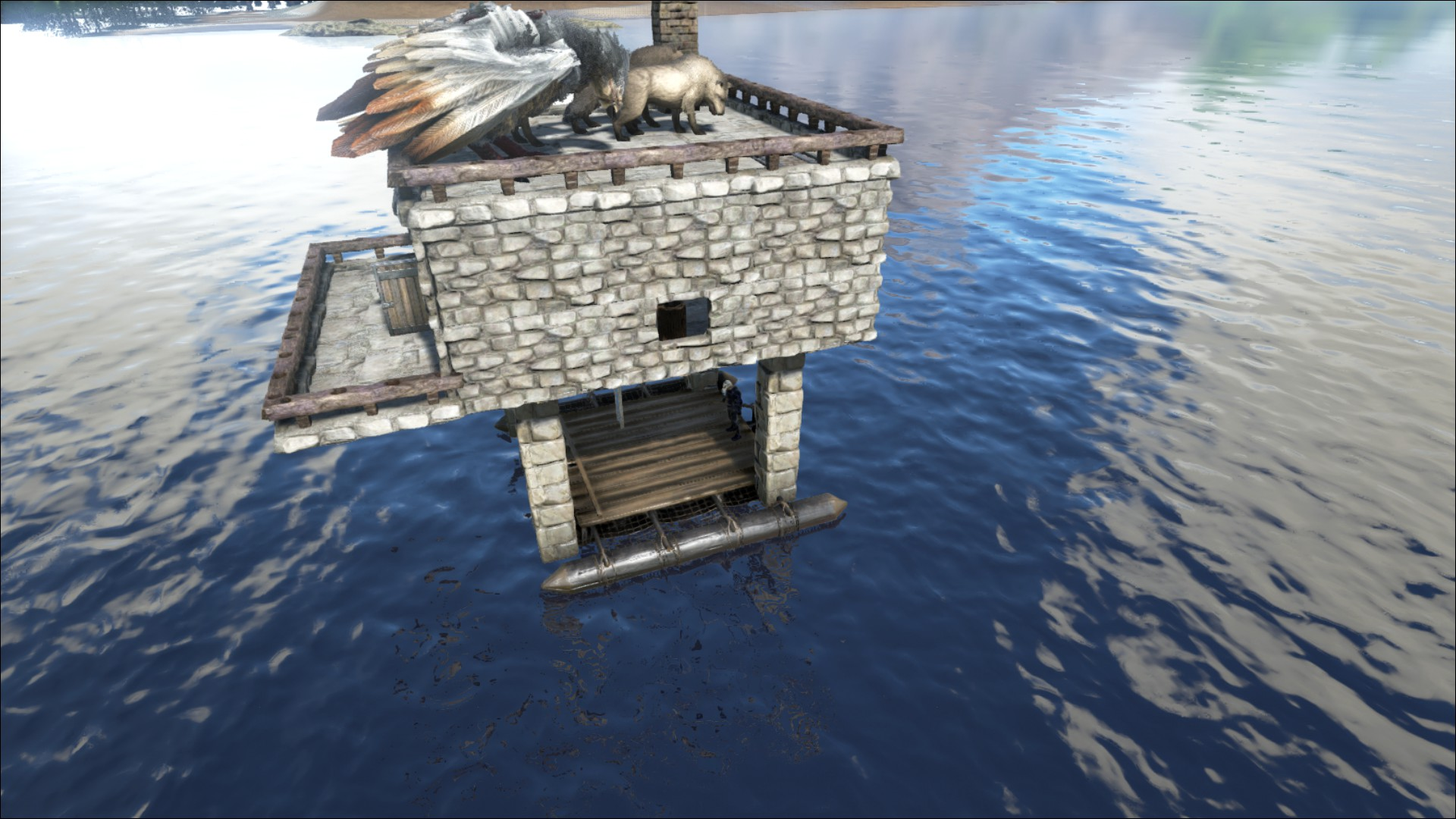 Building structures on rafts - General Discussion - ARK