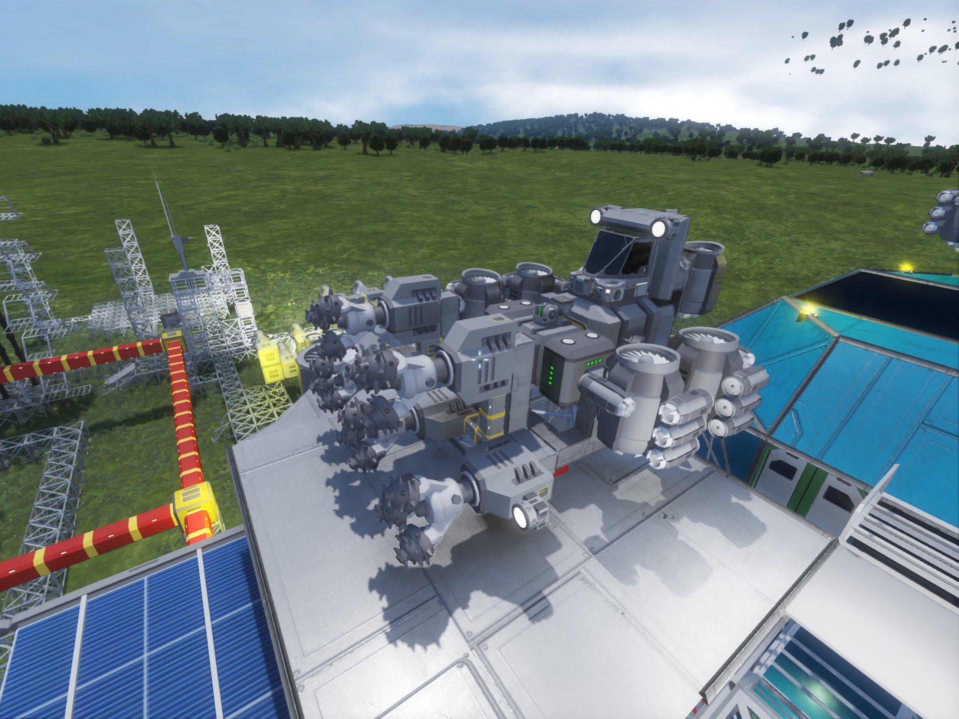 Small atmospheric miner trouble keen software house forums - Small reactor space engineers gallery ...