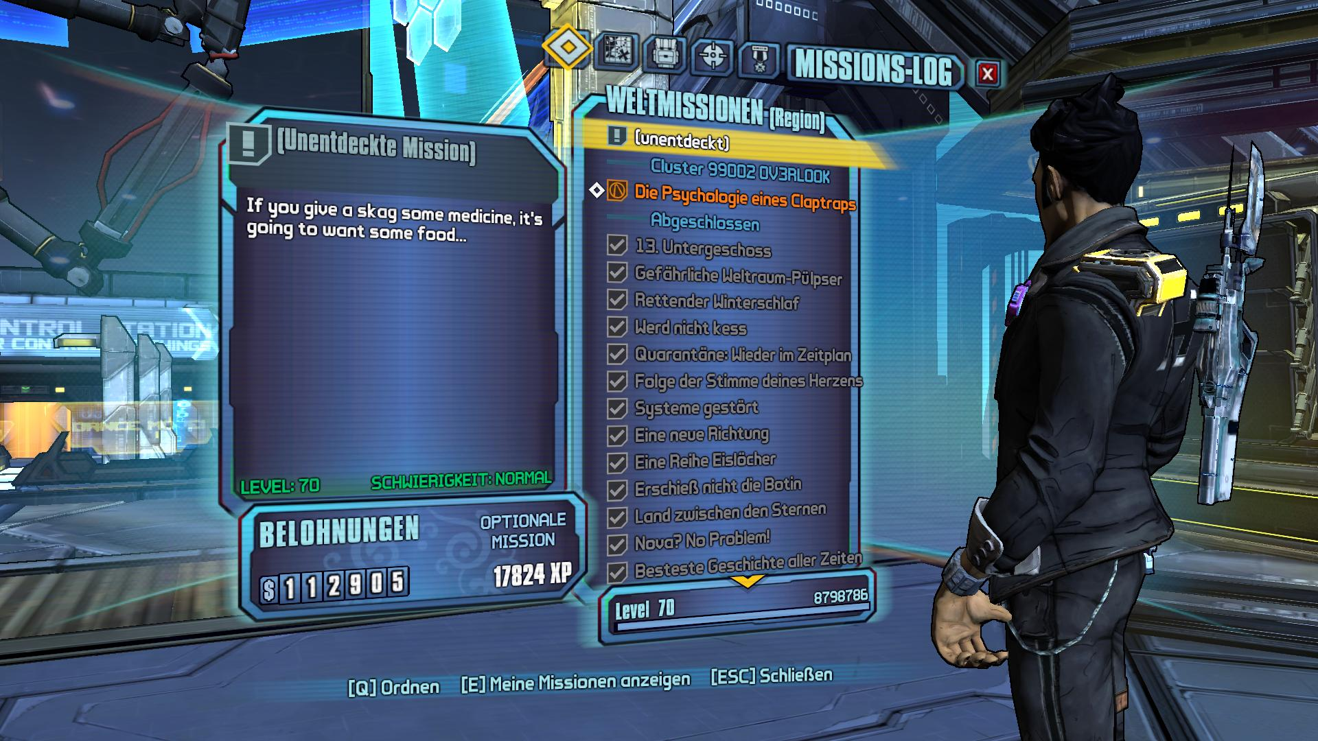 Unknown mission listed in the echo device! WTH?! - BL:TPS Discussion