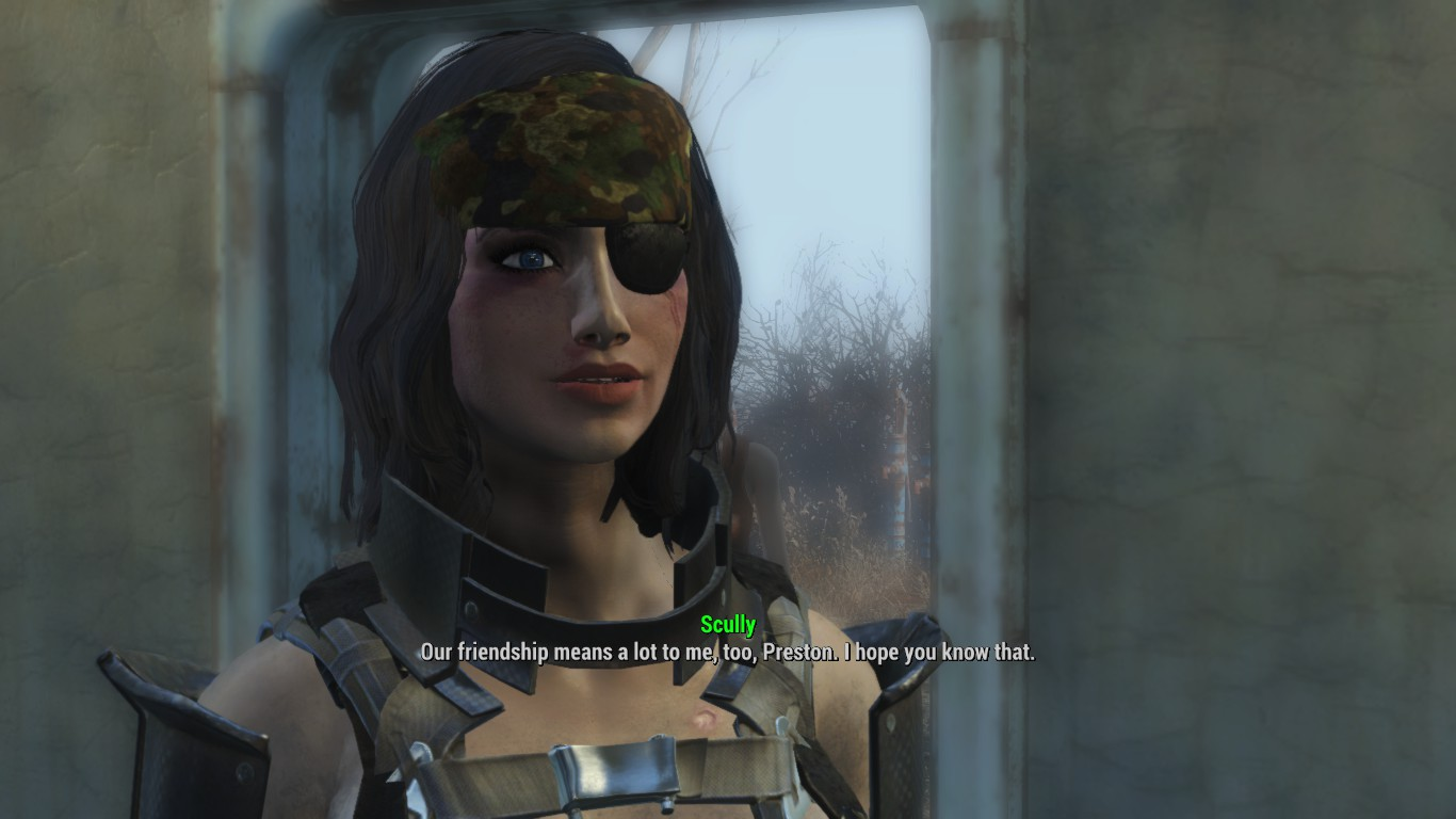 Fallout 4 V24: You're Tied to This Thread Kid, Your Energy