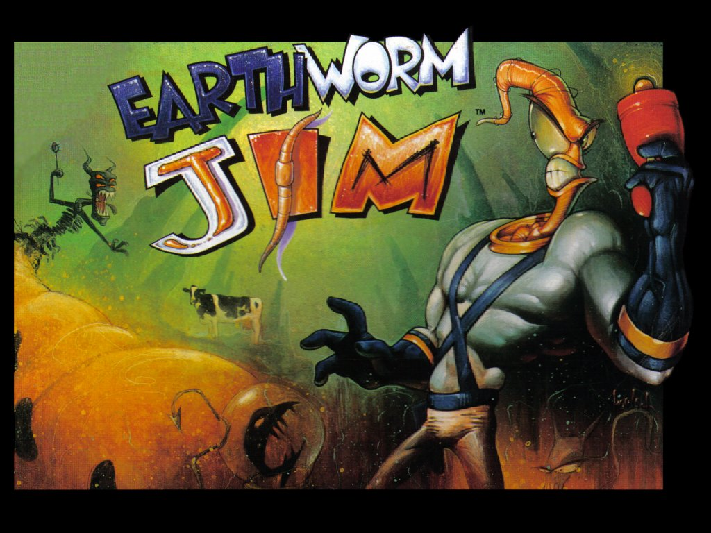 Image result for earthworm jim