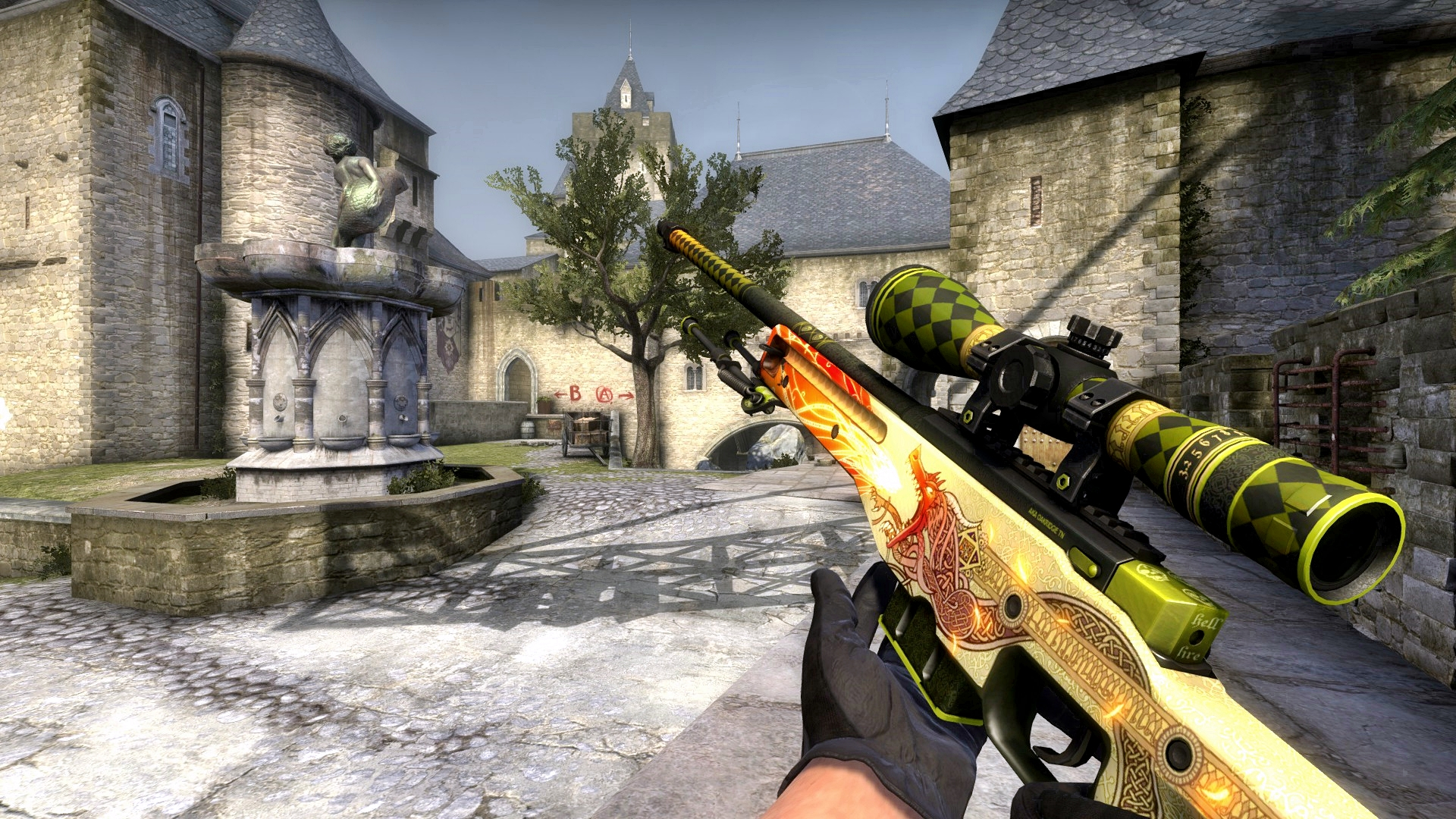 Dragon Lore Wallpaper This Item Has Been Banned