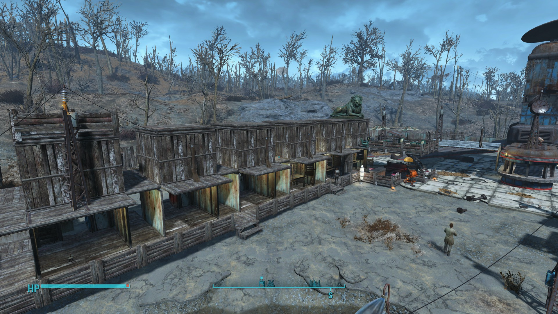 fallout 4 how to move settlement workshop