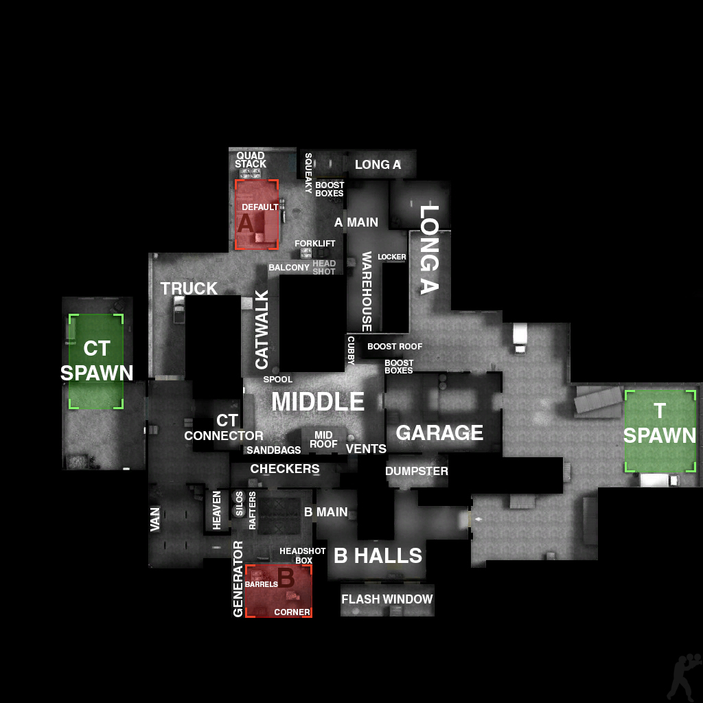 how to change the map to cache csgo