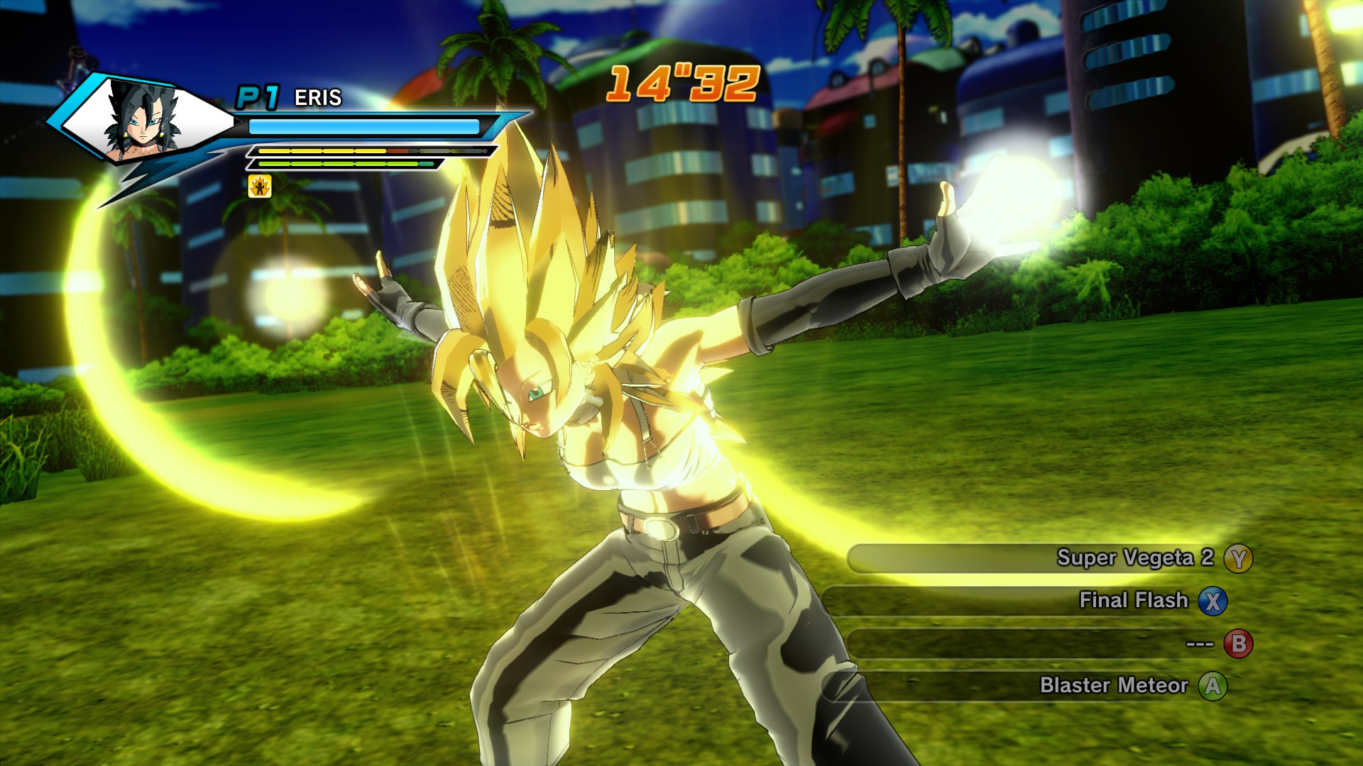 how to do a stamina break in xenoverse 2