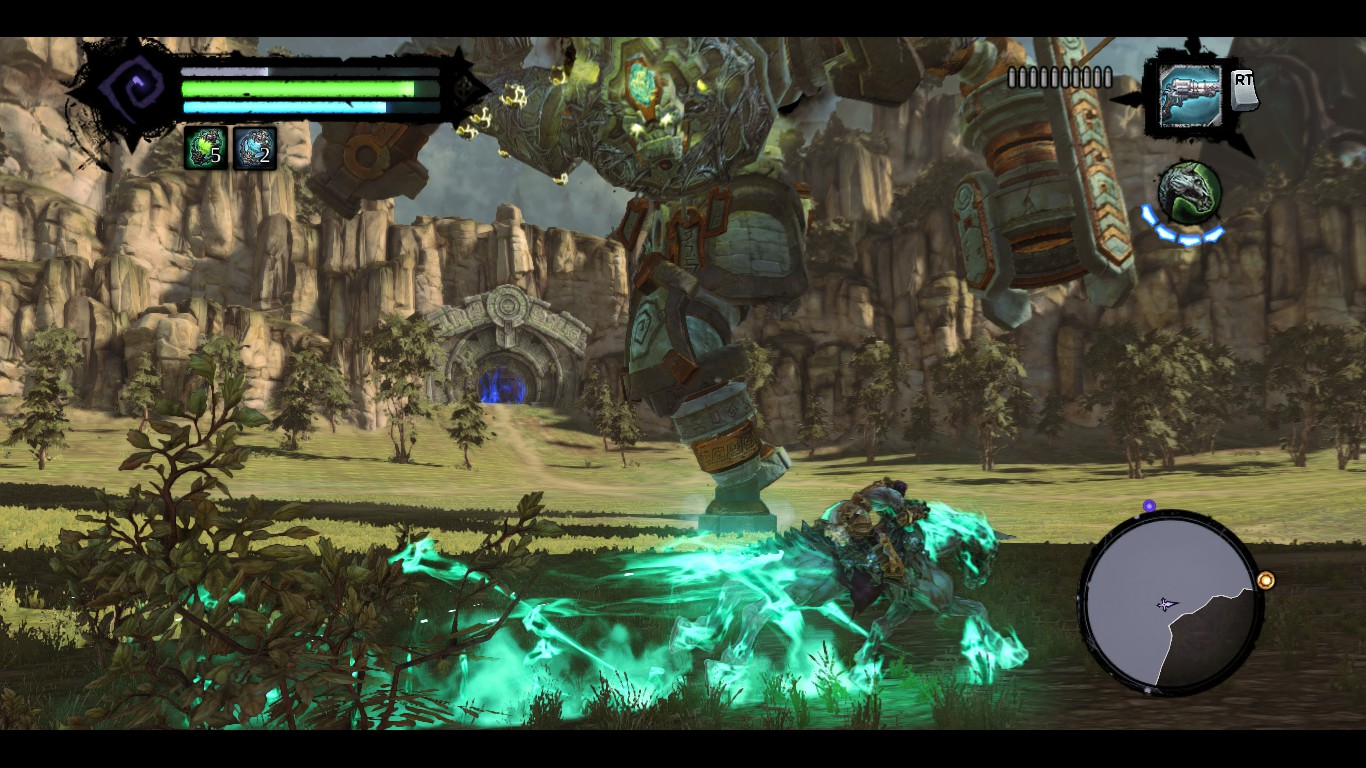 Darksiders 2 Deathinitive Edition Guardian Fight