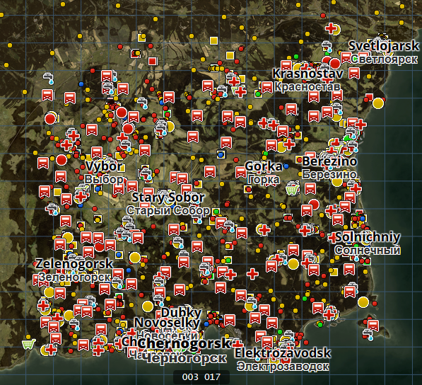 Steam Community Guide Eng Dayz Map