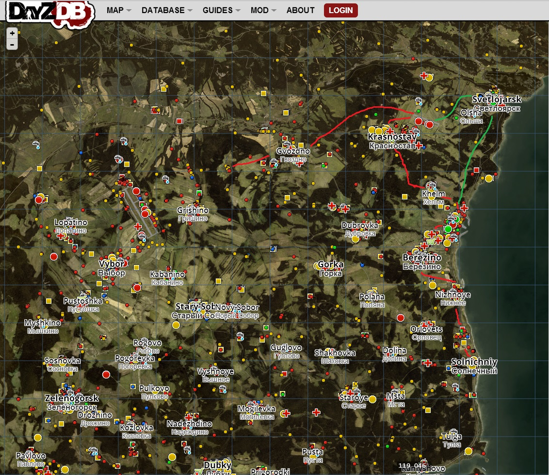 Steam Community :: Guide :: [ENG] DayZ Map