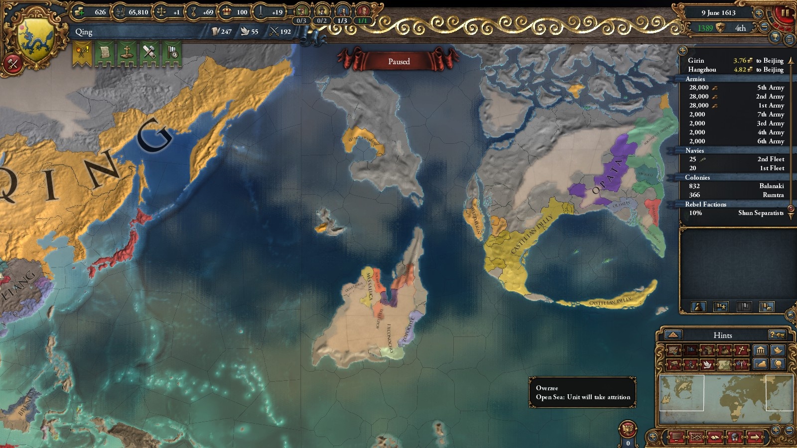 EUIV] Reducing the Reduced reduction in cost of reducing war
