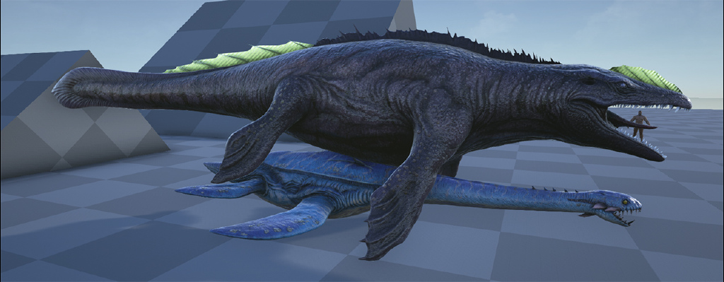 Steam Community Ark Mosasaurus Scale Reference