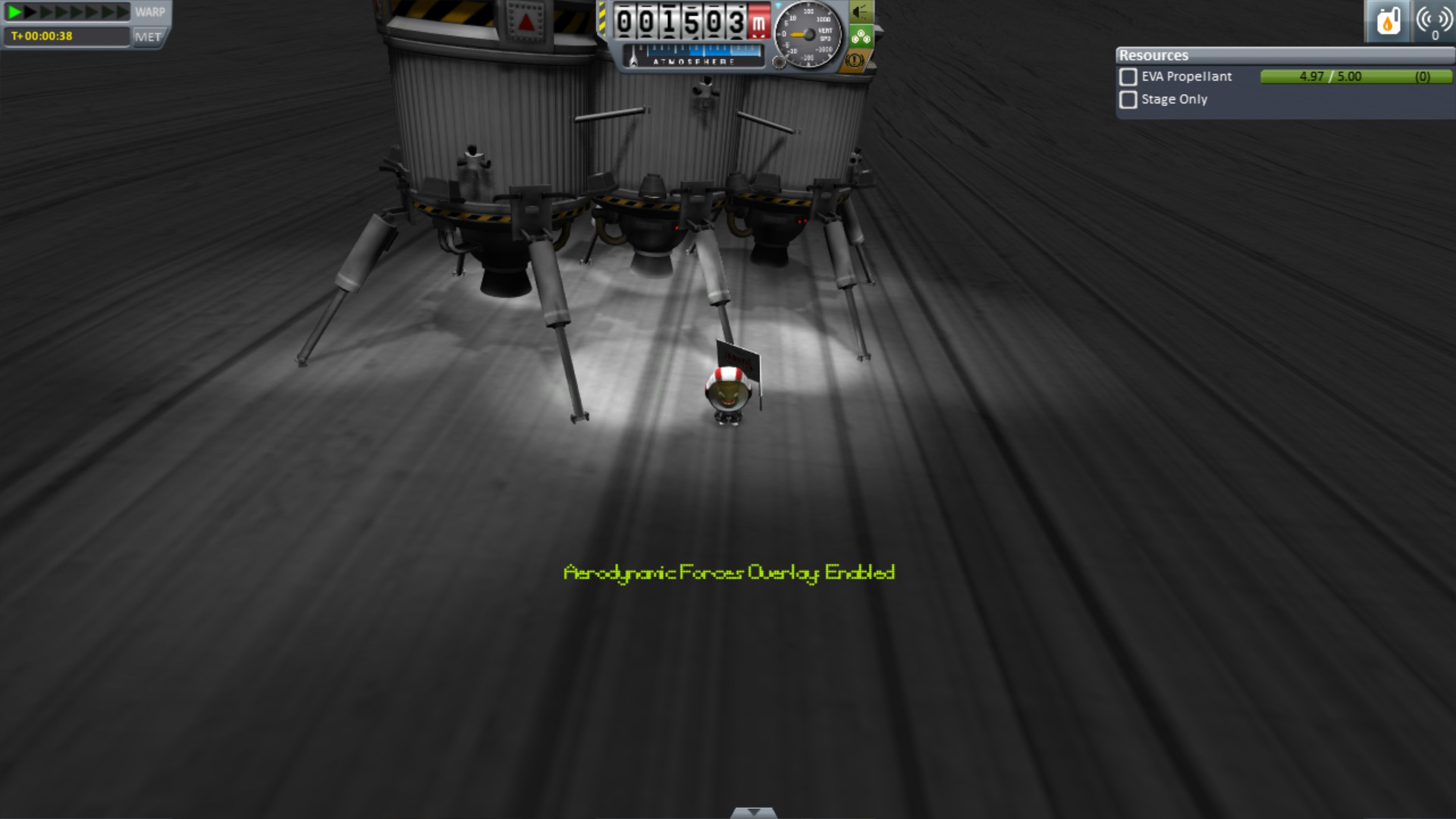 Small Mun lander that can land and relaunch to dock in Mun