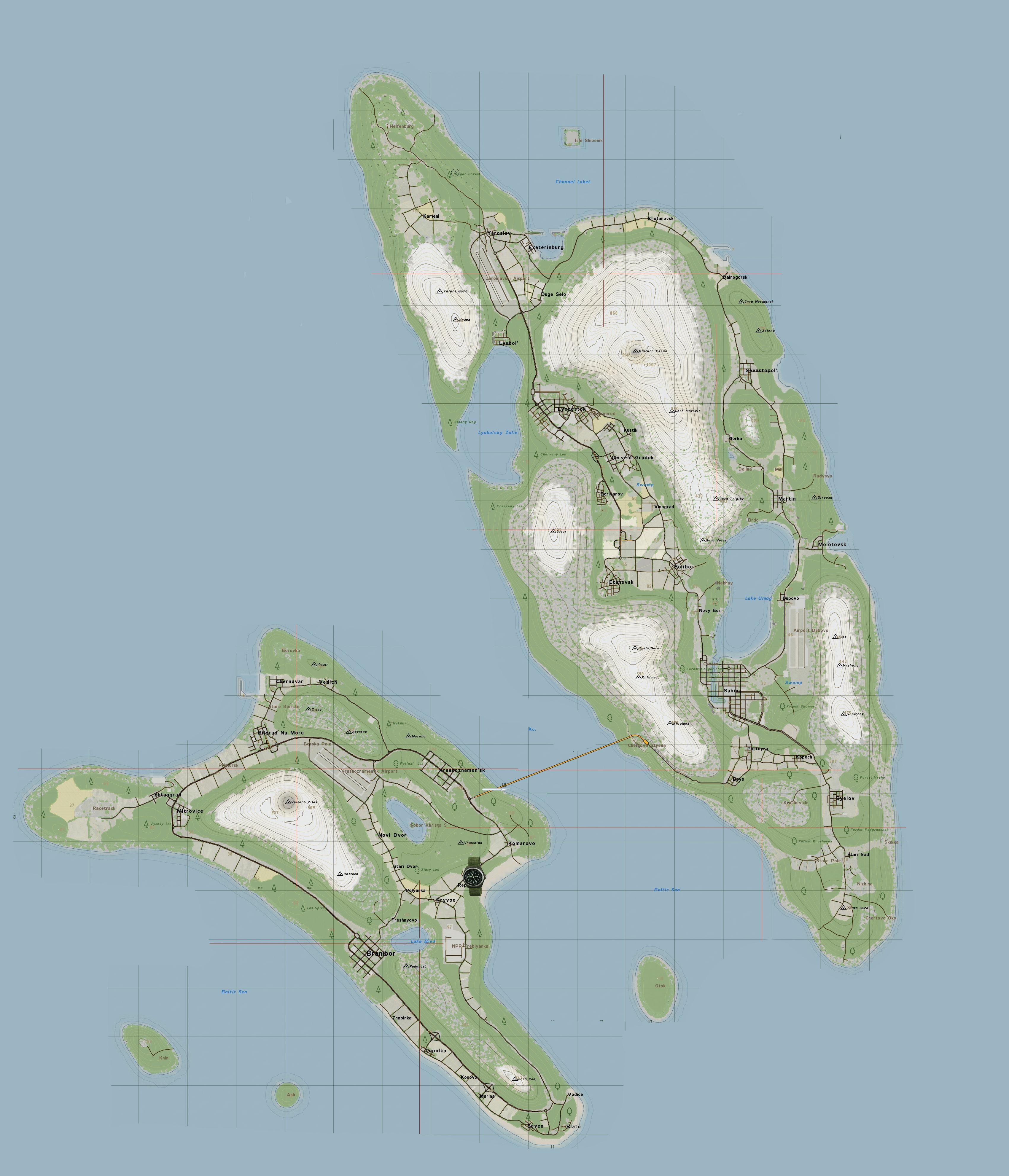 Steam Community :: Guide :: DayZ - All Maps