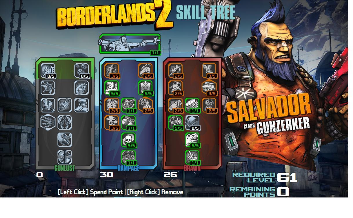 Borderlands  Money Shot Build