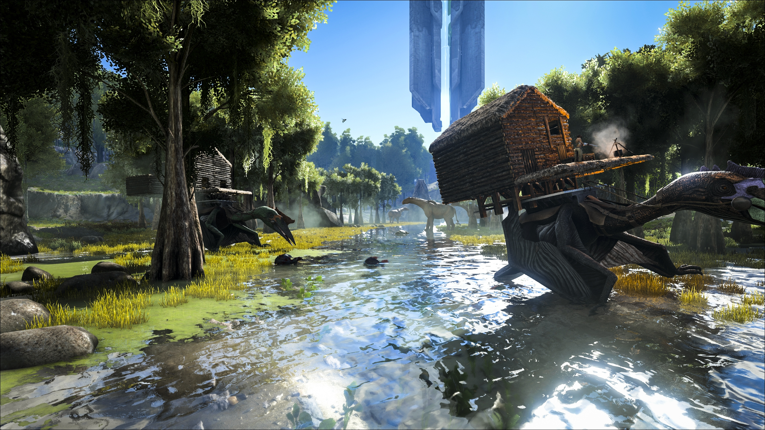 ark survival evolved play as dino how to make nests