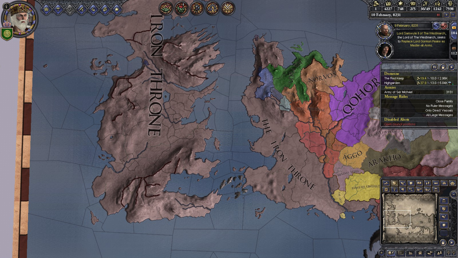Crusader Kings II A Game of Thrones mod stories - Entertainment - A