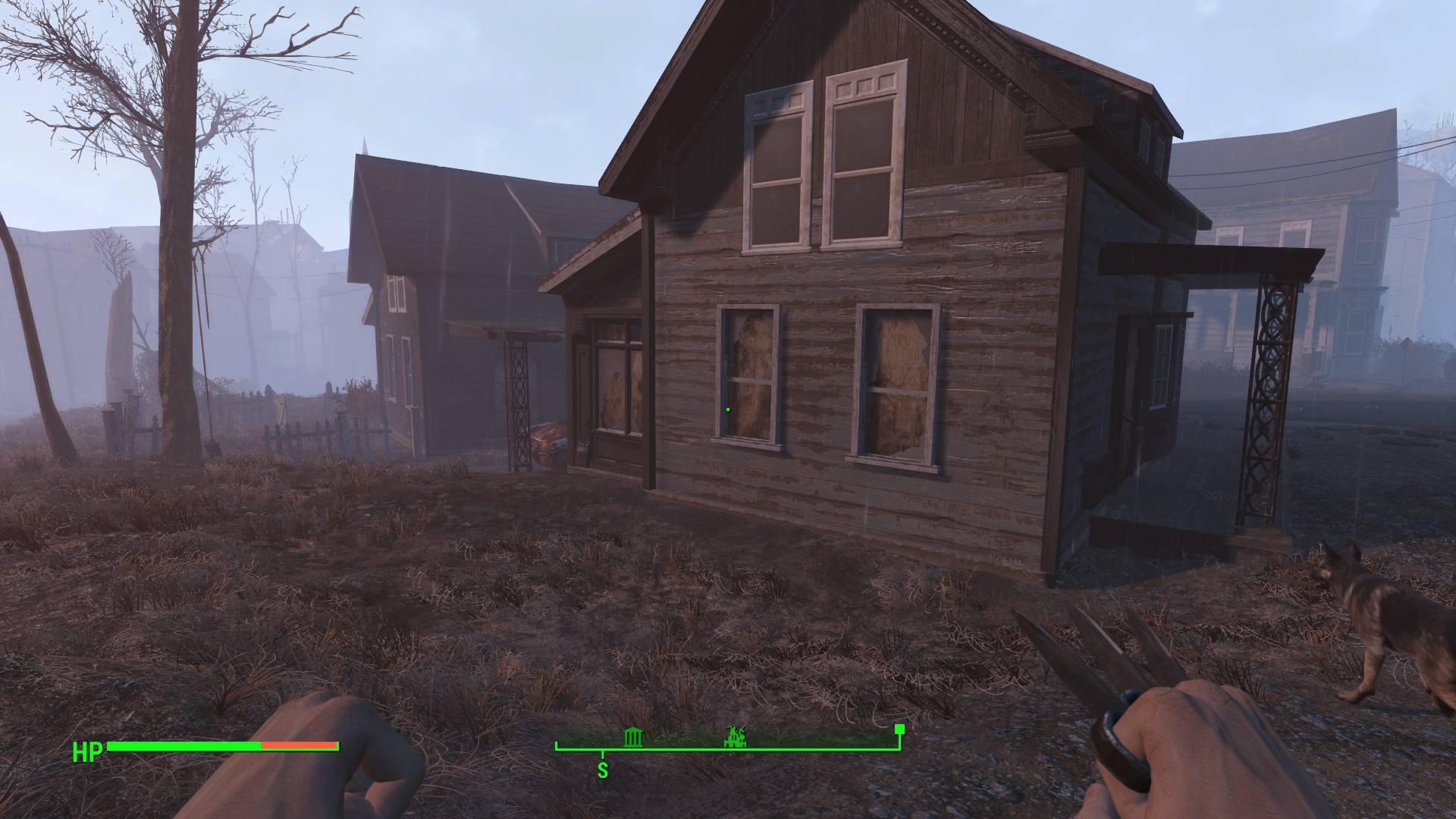 Shadow pop in on PC : fo4