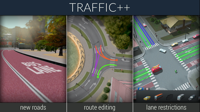 cities skylines traffic mod download