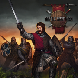 I'm looking for a specific greek or german term for battle brothers?