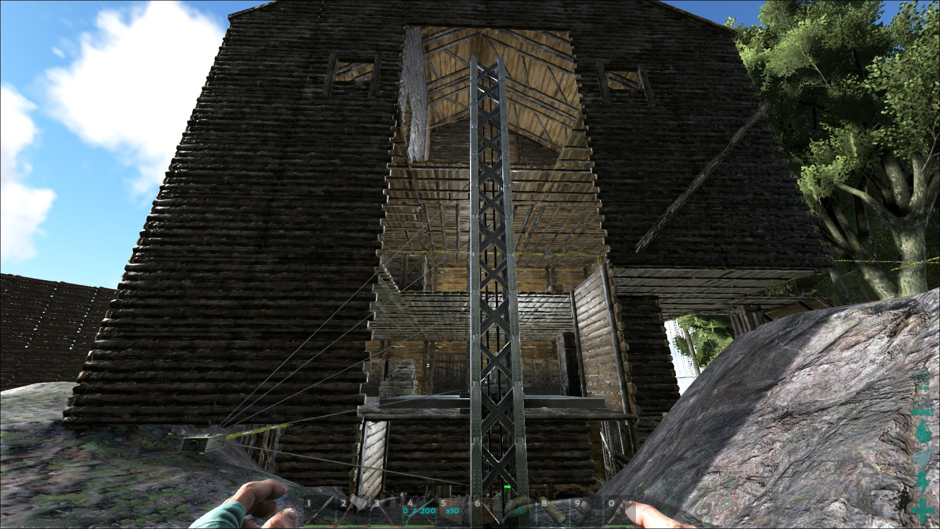Steam community guide guide to elevators so this is the back of the building you can see that i now have to build a 3 sided box outside of the elevator this is why i wont be keeping malvernweather Image collections