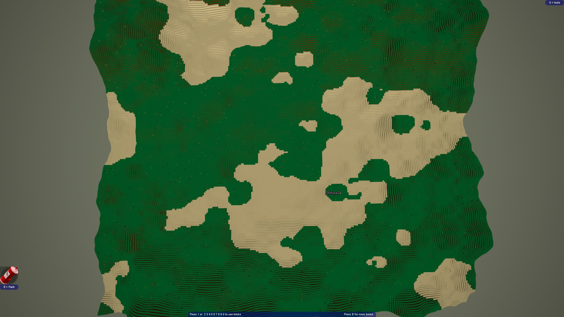 Terrain Freebuild [ONLINE] - now being able to save your stuff
