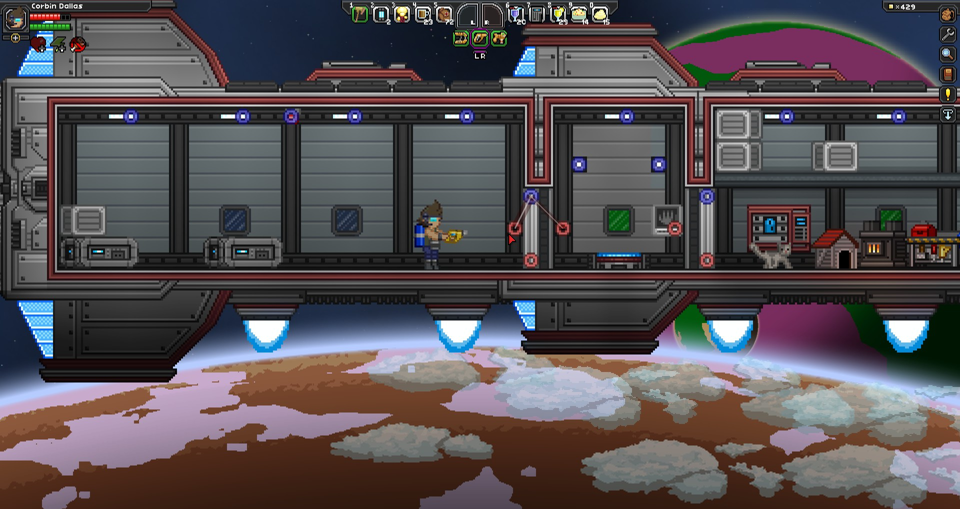 steam community guide basics of wiring an Starbound Character Starbound Hylotl Ship