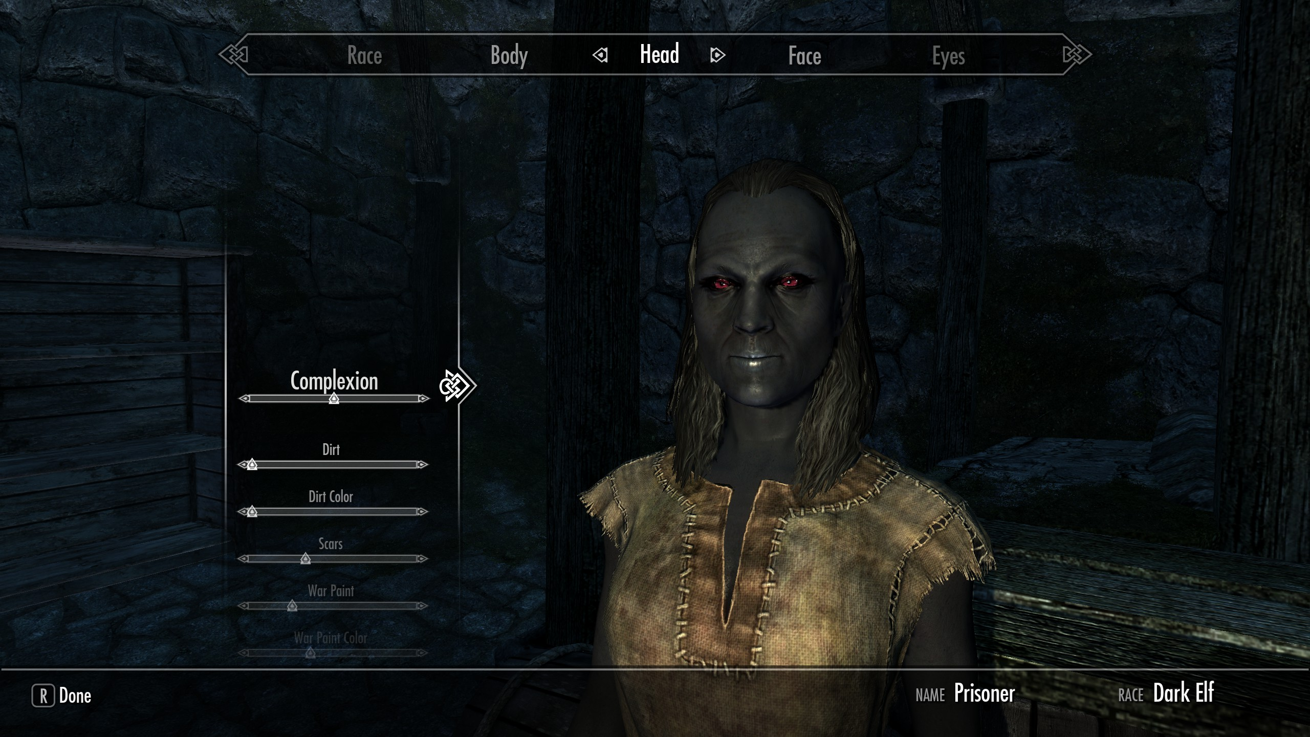 Ethereal Elven Overhaul - Dark Elf Complexion Problem