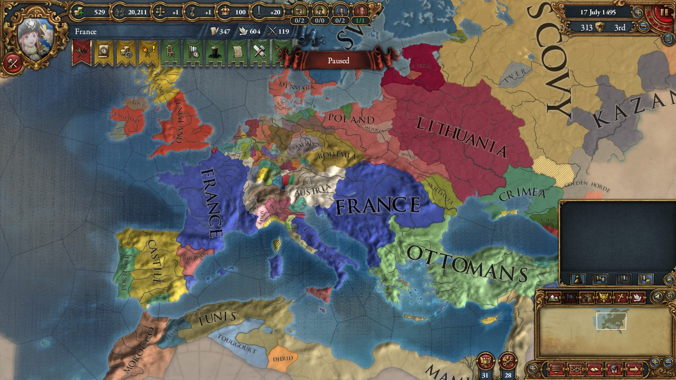 List of Synonyms and Antonyms of the Word: eu4 achievements