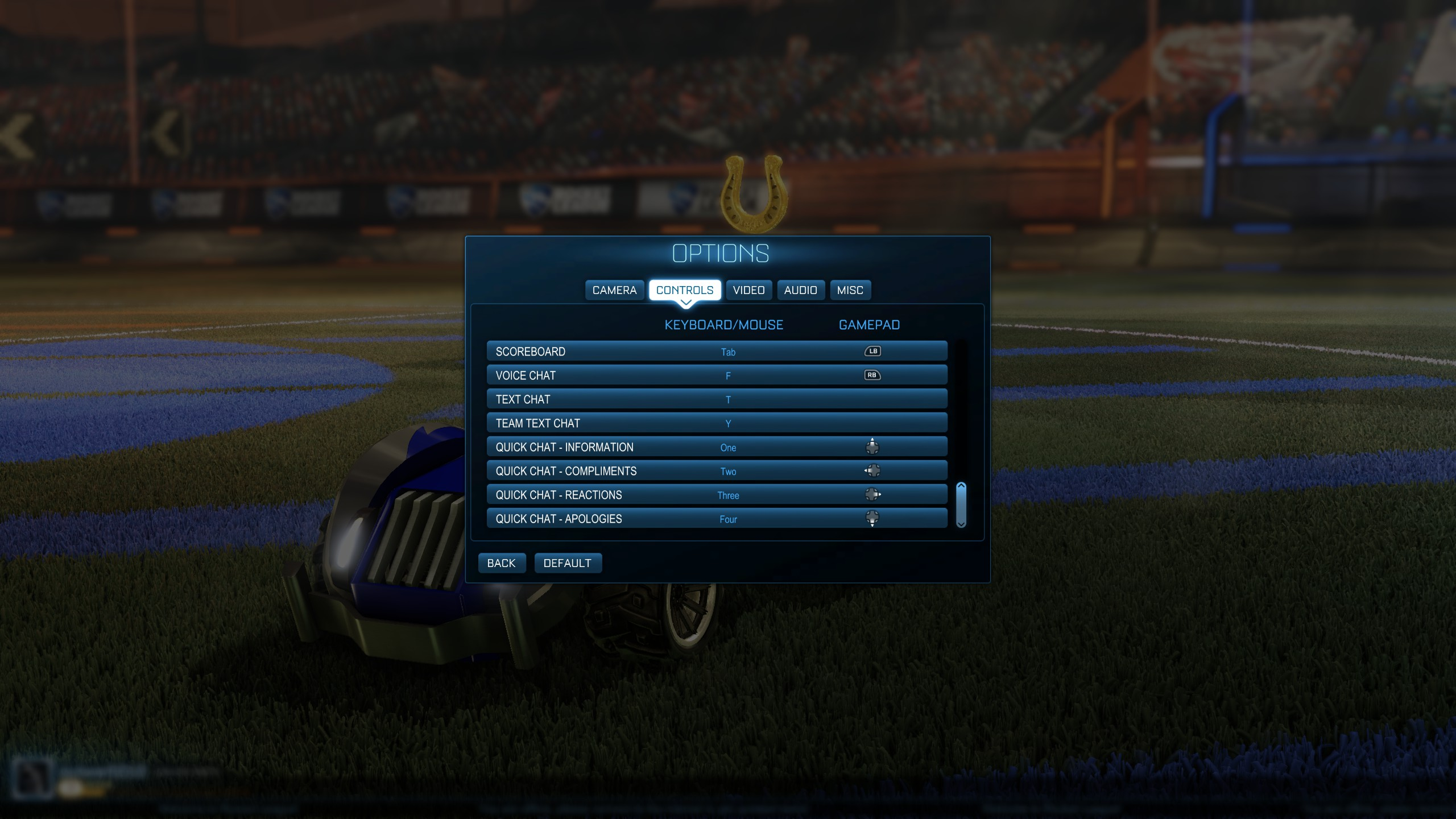Rocket league camera settings ~ idee di design nella vostra casa
