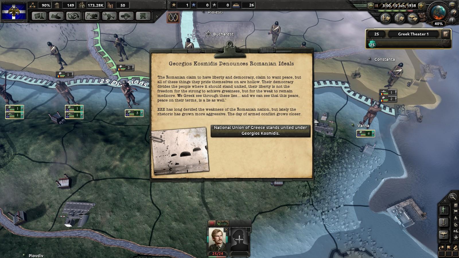 The Phoenix Rises: Fascist Greece AAR | Paradox Interactive Forums