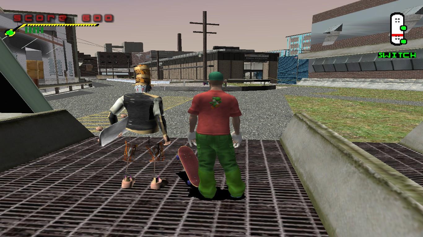 So, I dug up these old THPS3 screenshots of mine