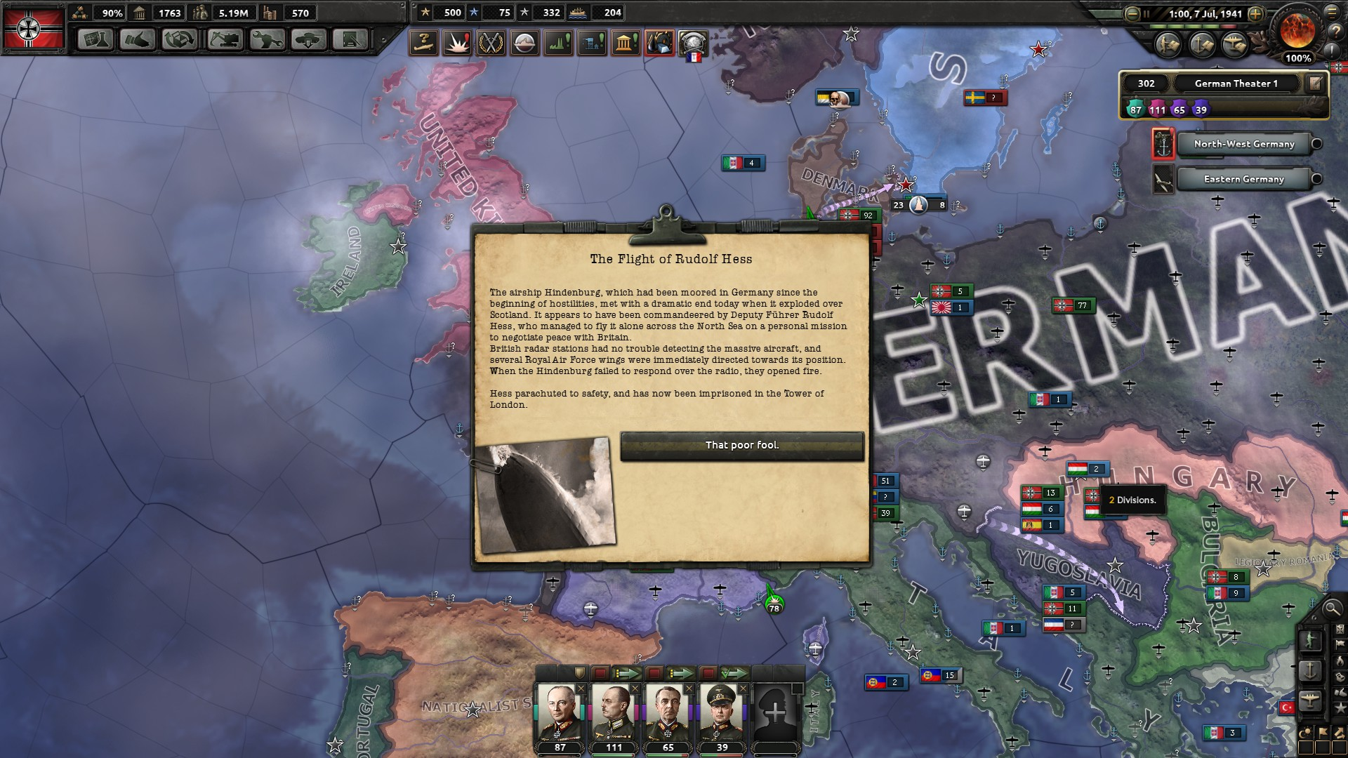Hearts of Iron IV: World War II Grand Strategy (UPDATE March