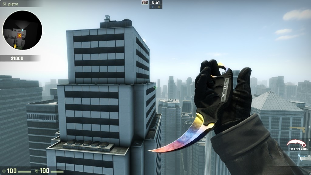 Karambit marble fade fire and ice price factory new