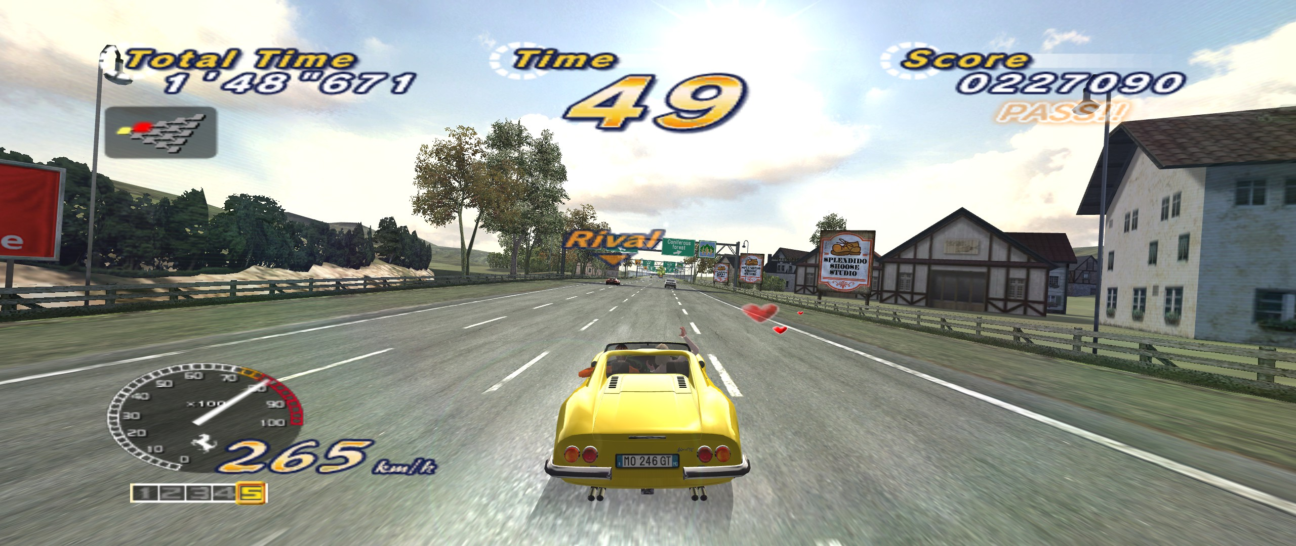 After a decade, OutRun 2006 Coast 2 Coast gets rumble (and