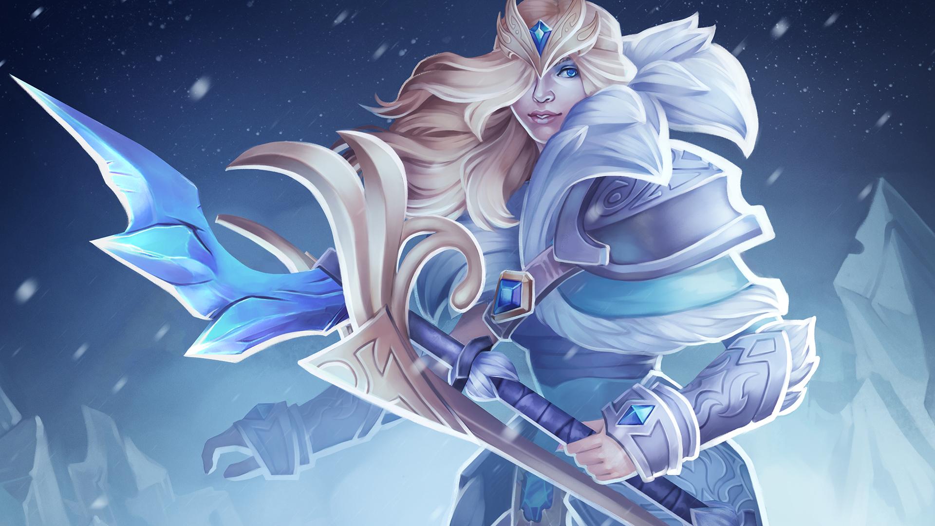 Crystal Maiden Dota 2 Immortals: Steam Workshop :: Warden Of Icewrack