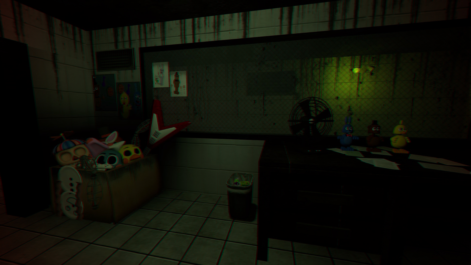 Steam community fnaf 3 office updated - Doge steam background ...