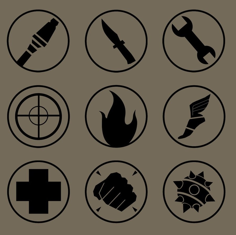 Tf2 Class Emblem Picture Click Quiz By Keleyhoffmann