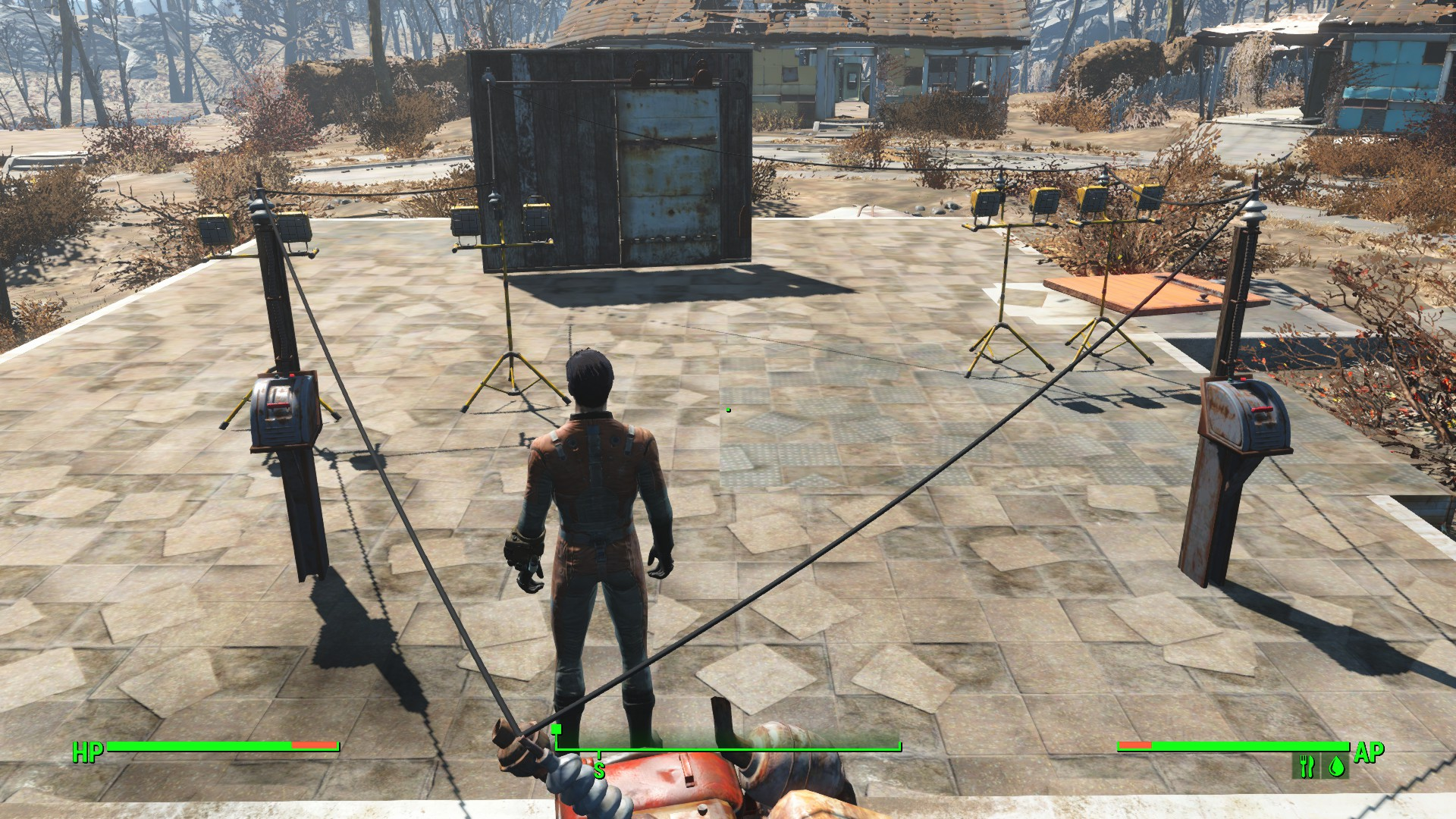 1 Powered Door And 2 Switches Fallout 4 Discusses Gerais Way Generator Switch Here Is A To Do It The Has 3 Power When One On Lights Use Doors Open Both Are