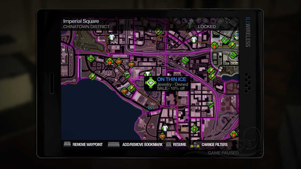 Saints Row  Lookout Island