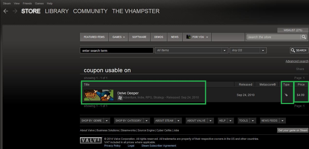 Steam how to use coupons