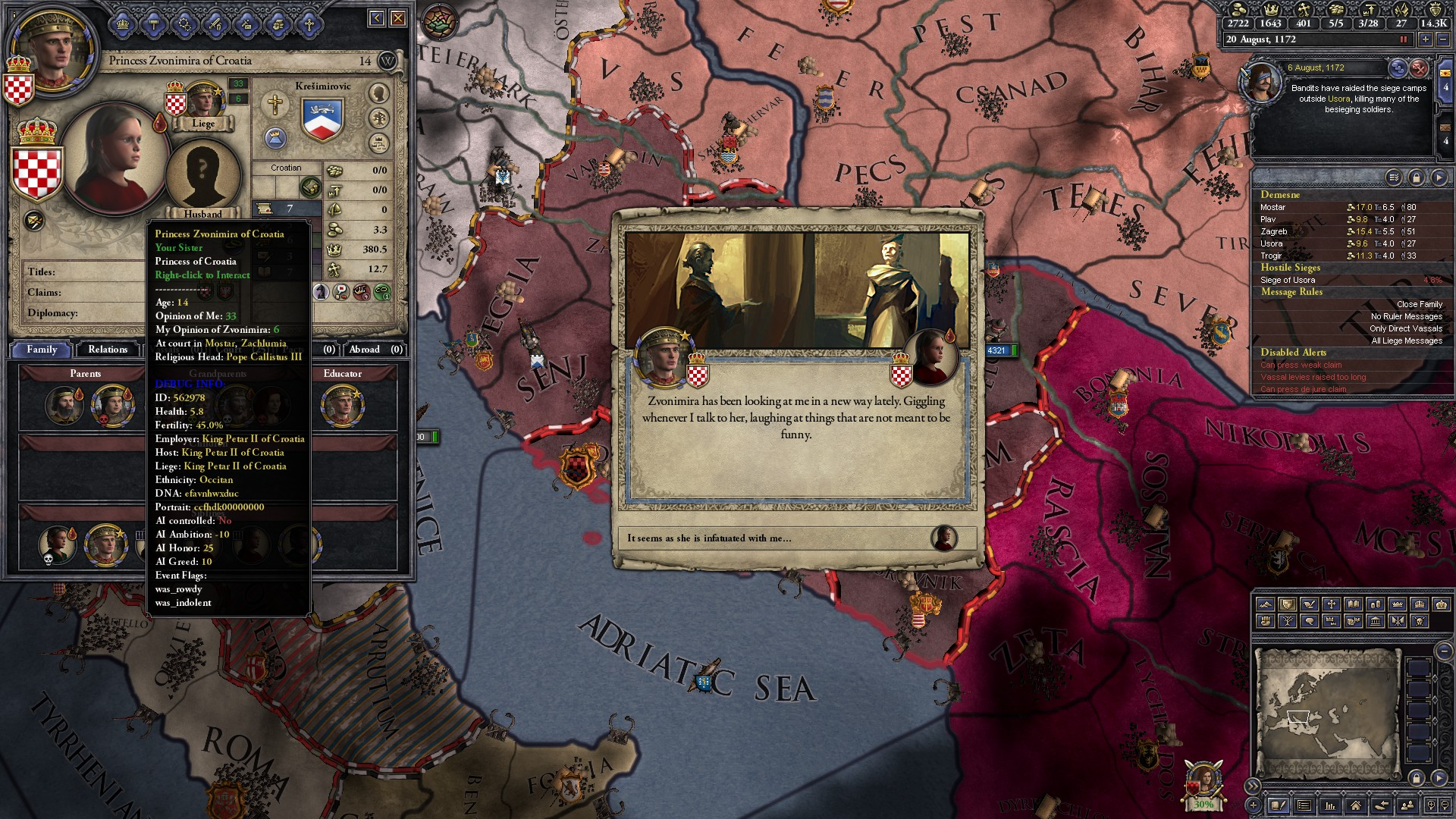 The first rule of incest: Start 'em young  : CrusaderKings
