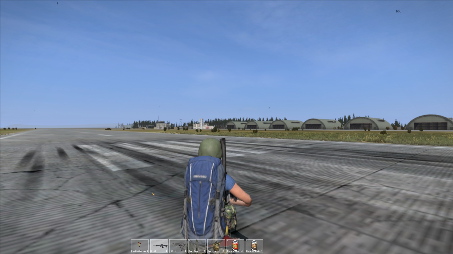 How To Get Food At Nw Airfield