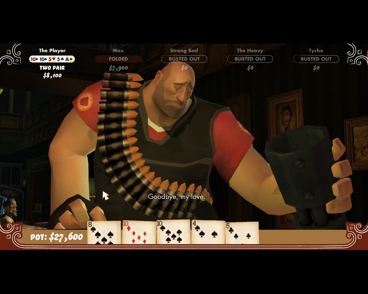 How to get tf2 items in poker night 2