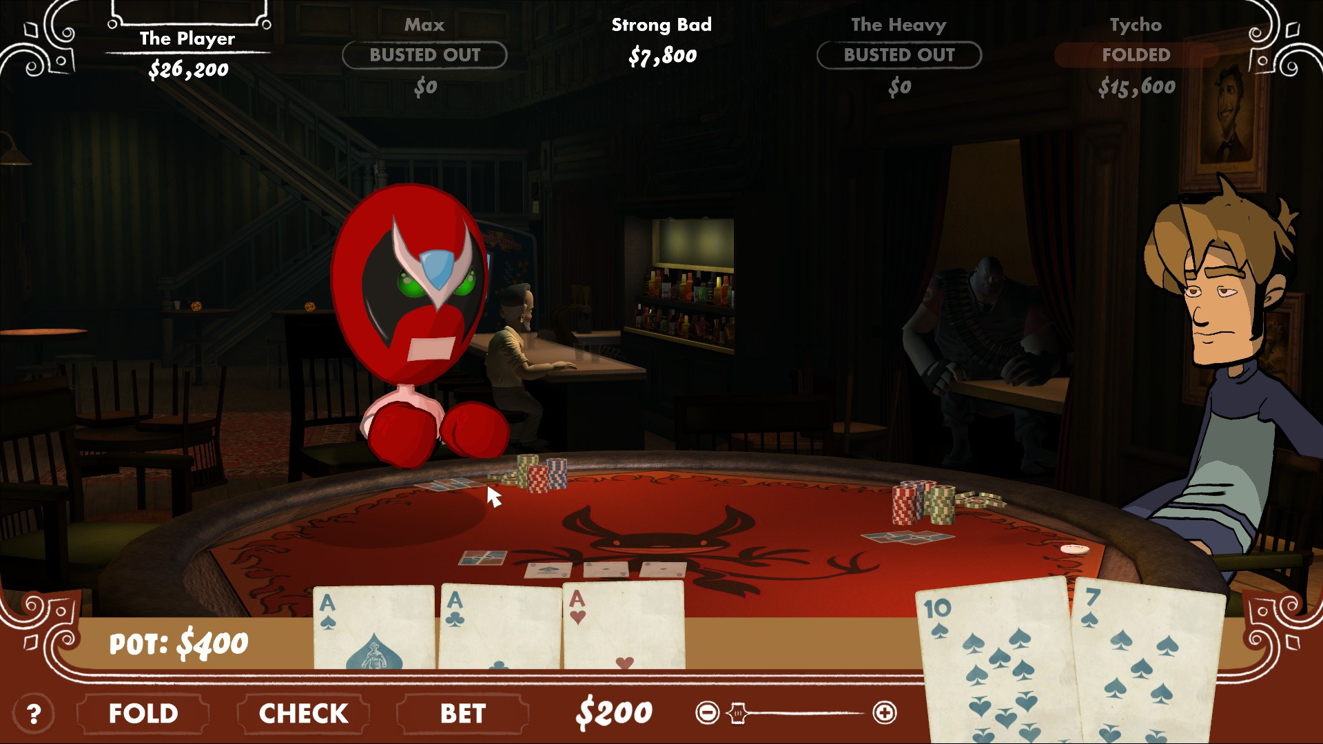 Poker night at the inventory 2 trophy guide