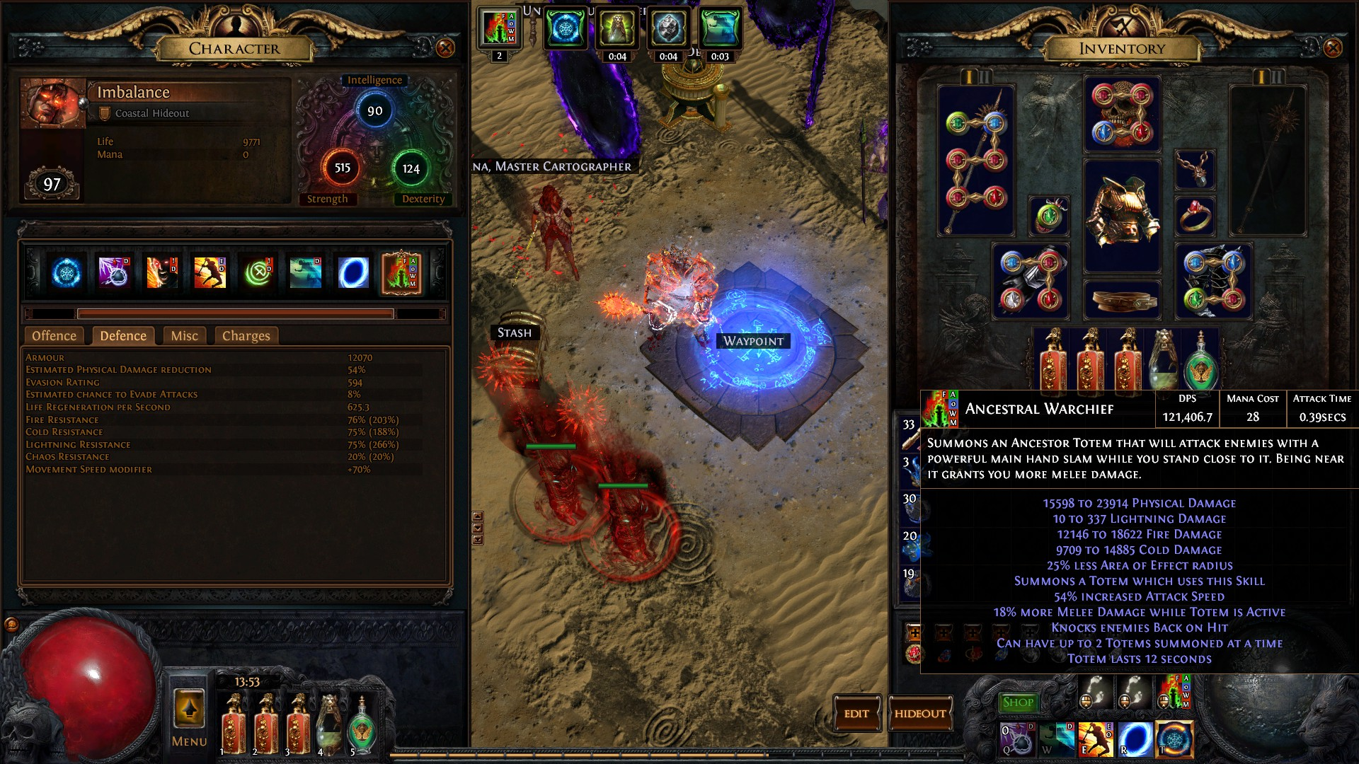 Forum - Marauder - [2 4] Imbalance's Ancestral Warchief (not level