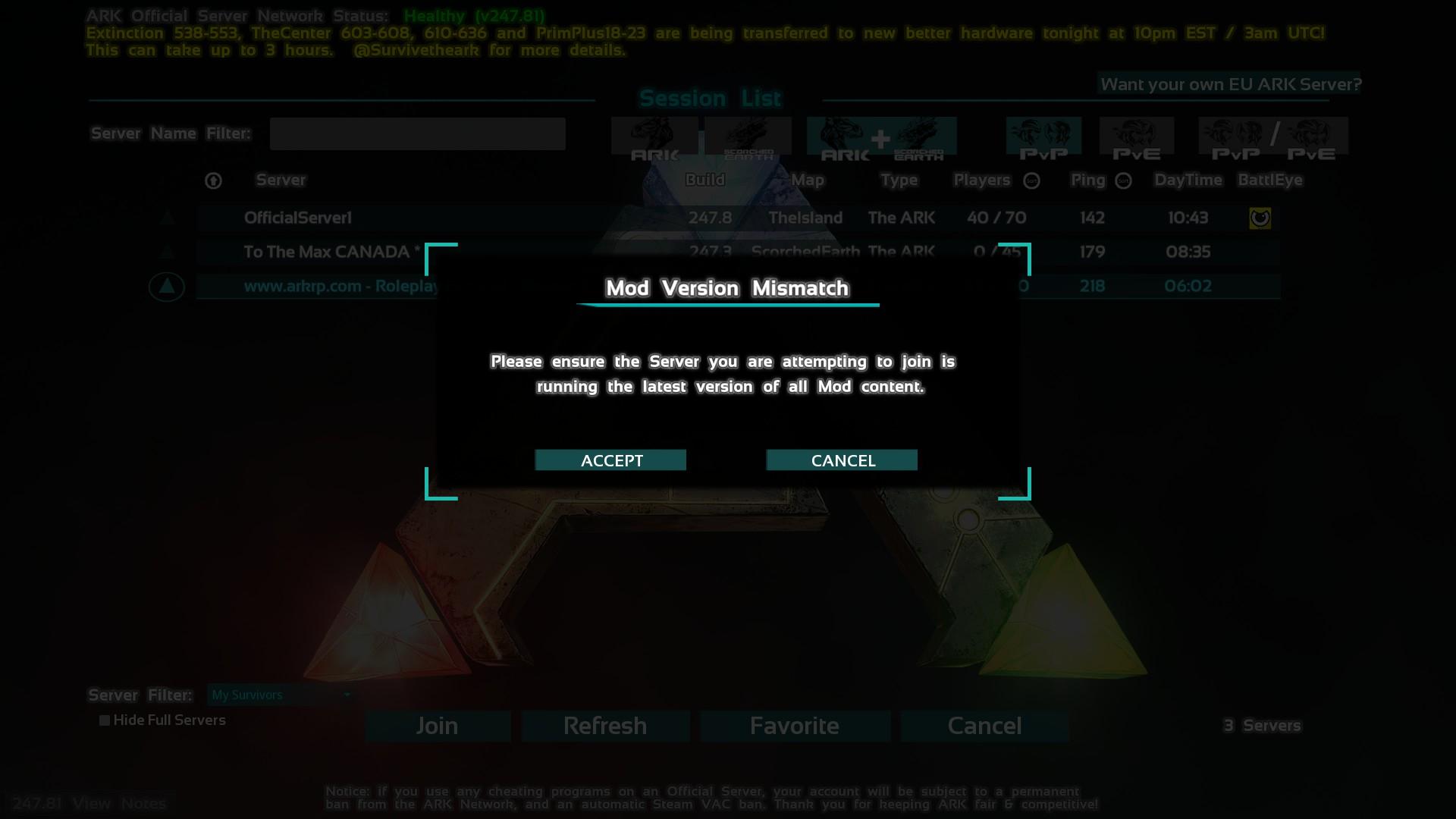 Как в арк сделать свои сервер