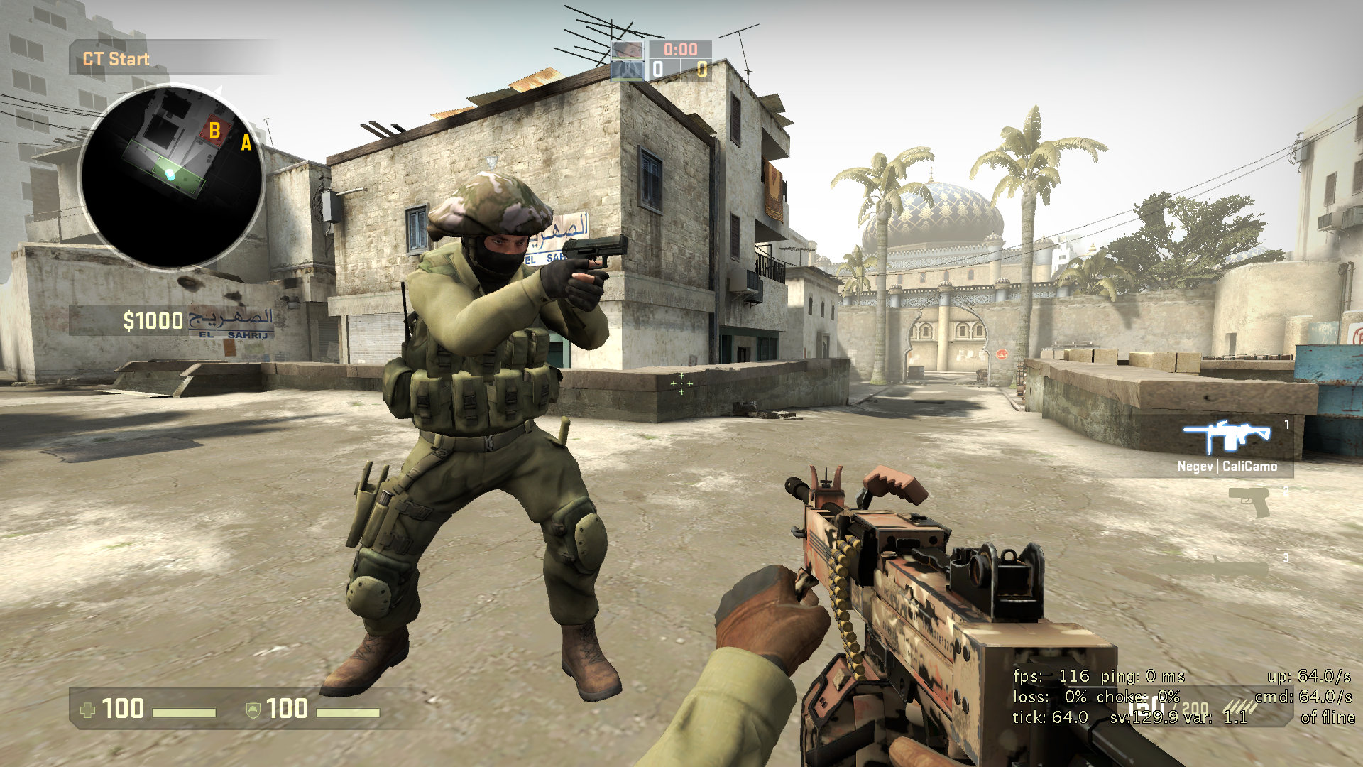 csgo how to get fps on screen