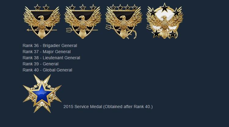 Приват ранги в CS:GO