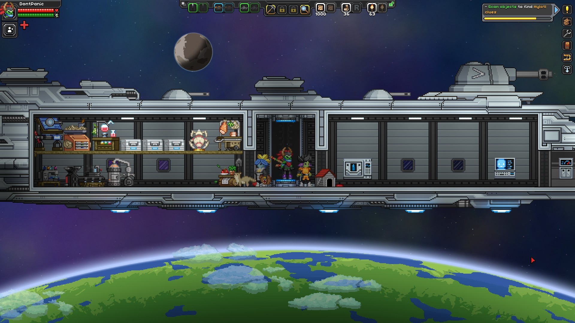 starbound other games the adventure league