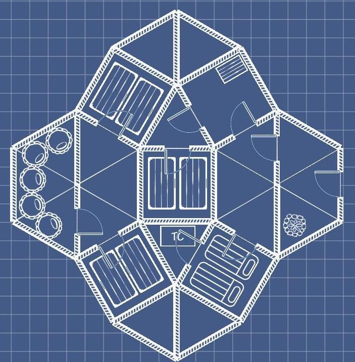 on House Blueprint Floor Plan