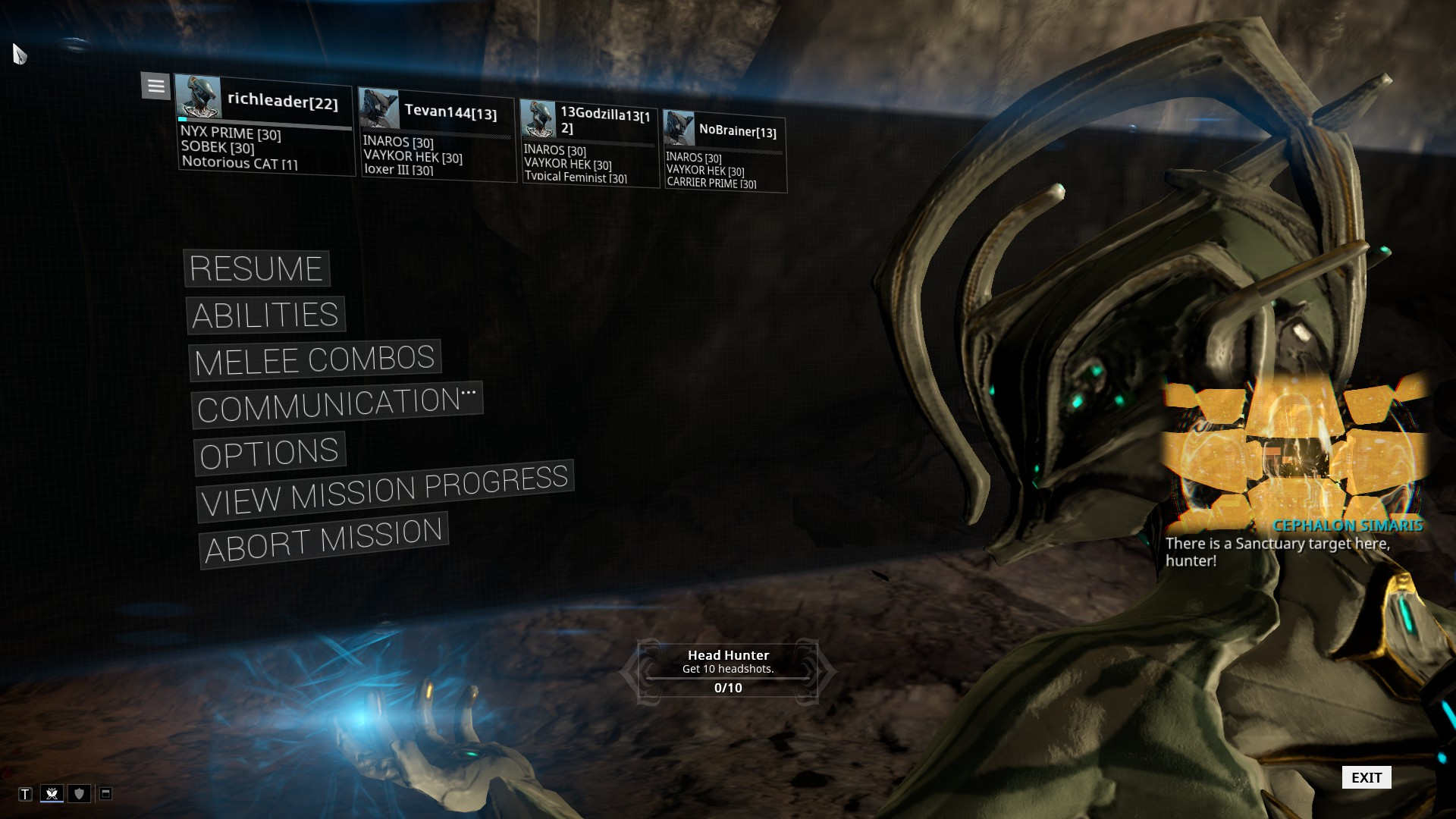 Warframe The Jovian Concord Ars Technica Openforum
